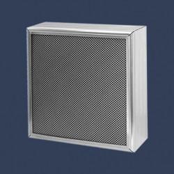 Baffles acoustiques protégées par métal expansé