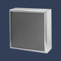 Acoustic baffles with expanded metal