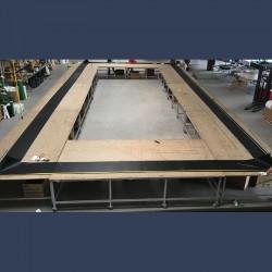Rectangular expansion joint manufacturing