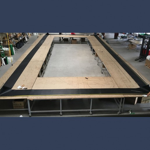Fabric expansion joint - manufacturing