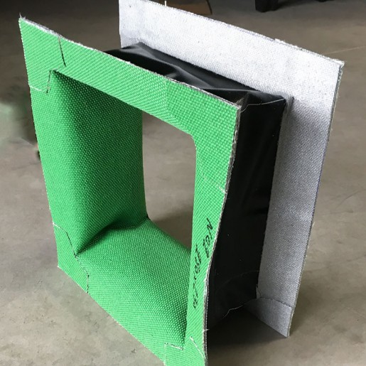 Compensateur de dilatation en tissu  - fabrication en atelier