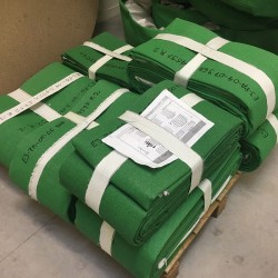 Fabric expansion joint- packing inspection before delivery