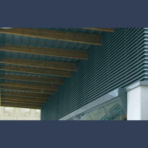 Lames filantes acier galvanisé - in situ