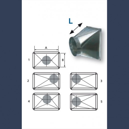 transformation galvanized duct