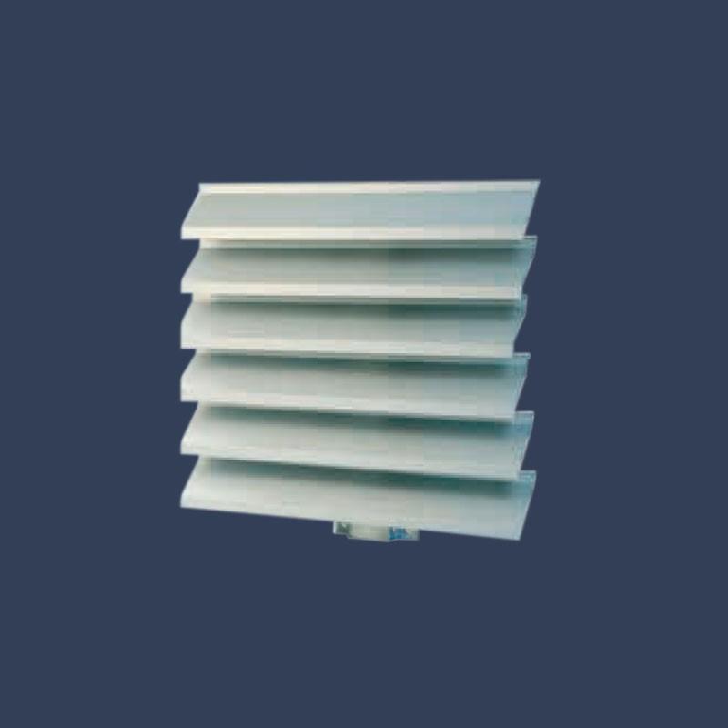 Aluminium louvre systems