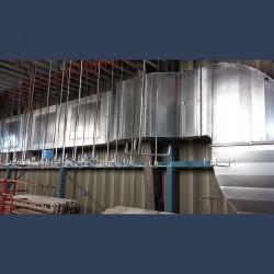 Réseau de gaines de ventilation - intérieur bâtiment