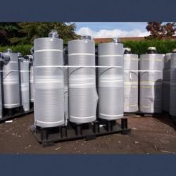 Silencieux cylindrique d'échappement 25dBA - fabrication