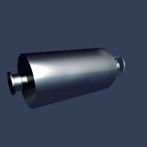 Silencieux cylindrique d'échappement 25dBA