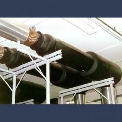 Silencieux cylindrique d'échappement 30dBA - in situ