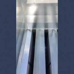 Sound attenuation splitter silencer low pressure drop - detail