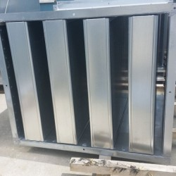 Sound attenuation splitter silencer - manufacturing