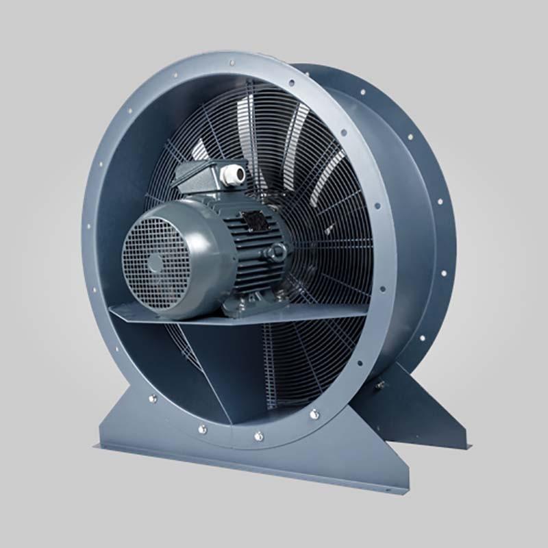 Axial fan Aeib HDO type motor side