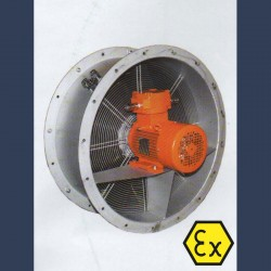 Axial fan Aeib HDO type motor side ATEX