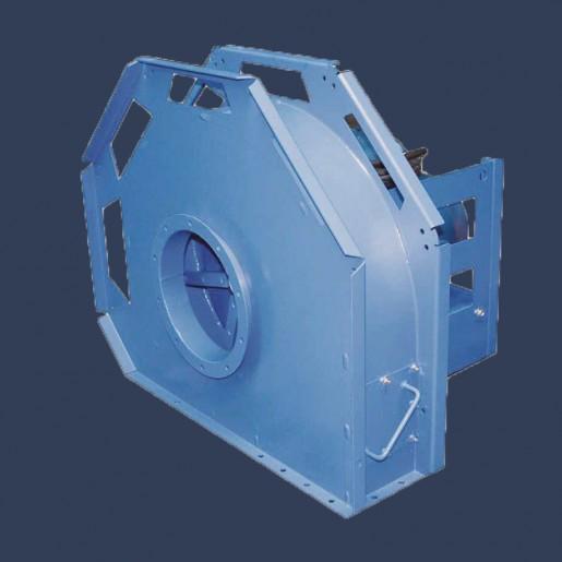 Ventilateur centrifuge pour air chargé en particules et copeaux CRTN