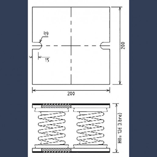 low-frequency-4-springs-support-h126-sketch