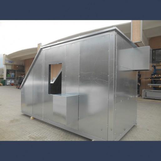 Capotage acoustique pour ventilateur - avant droit