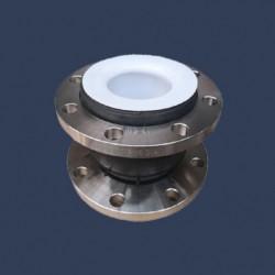 Compensateur de dilatation caoutchouc avec doublage intérieur en PTFE
