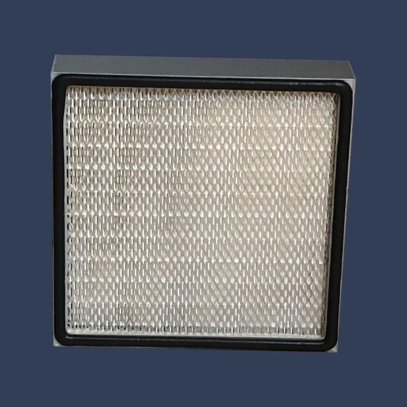 Filtre HEPA cadre aluminium joint