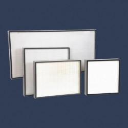 Gamme filtres HEPA cadre aluminium