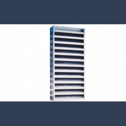 grille acoustique galvanisée