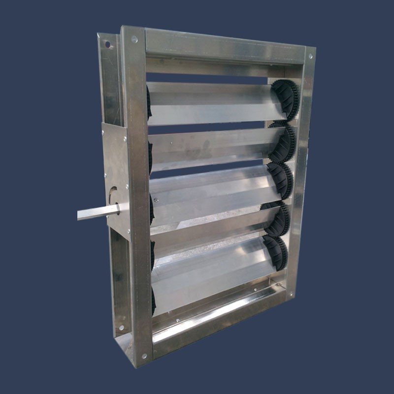 Galvanized steel damper