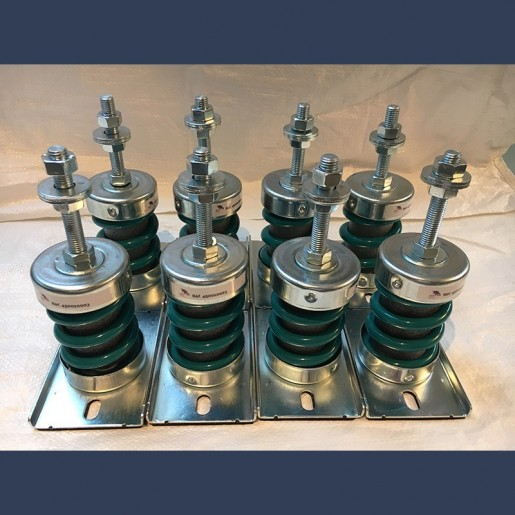 antivibration spring supports