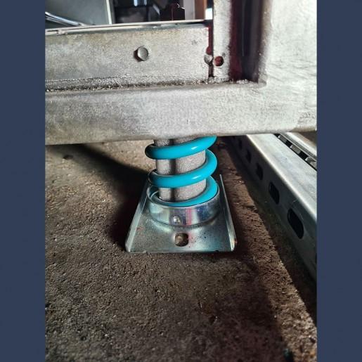 antivibration device in situ