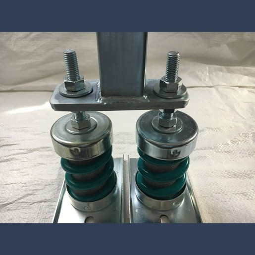 antivibration spring support mounting