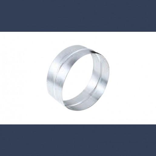 galvanized male-female circular connector