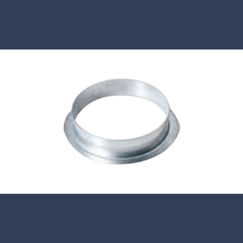 galvanized horizontal circular connector 90°