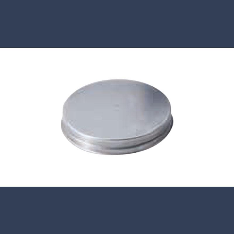 Bouchon circulaire en acier galvanisé pour gaines de ventilation