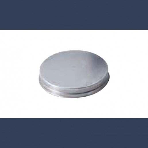 galvanized circular locking plug