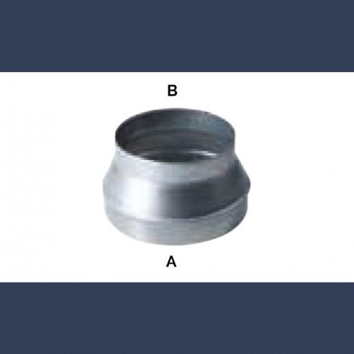 galvanized circular reduction duct
