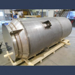 Steam vent silencer for over pressure discharge