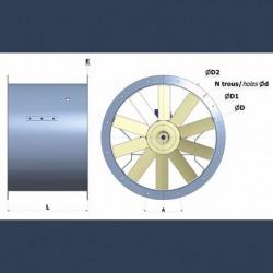 Ventilateur hélicoide HD1S