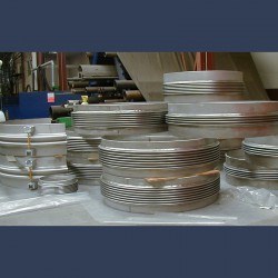 Metal expansion joint axial type - manufacturing