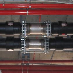 Compensateur de dilalation métallique lateral - in situ