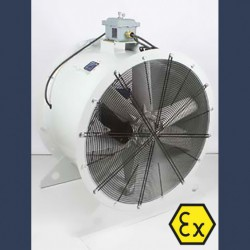 Axial fan Aeib HD1S type ATEX