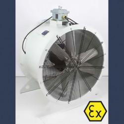 Axial fan Aeib HD1S type ATEX