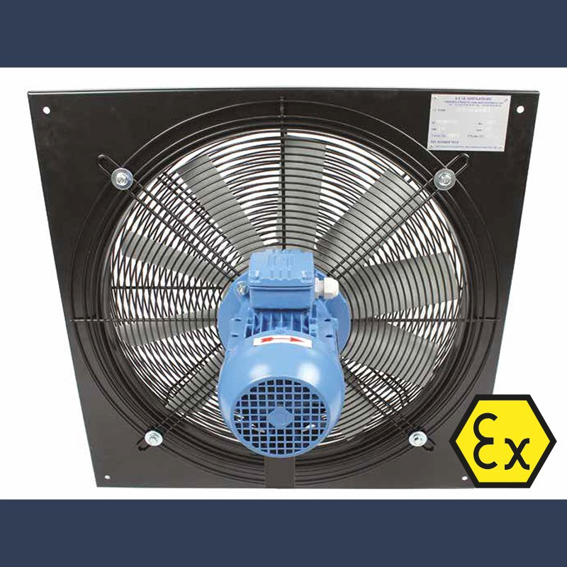 Axial fan Aeib EVXP type ATEX