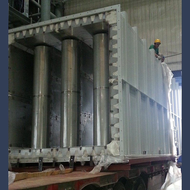 Gas turbine exhaust silencer GT 30 MW 35dBA