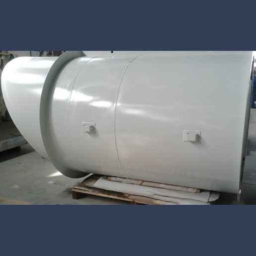 Primary air silencer for blower with high flow speed