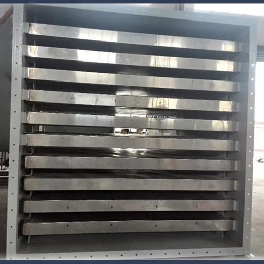 Silencieux de refoulement pour ventilateur industriel haut débit