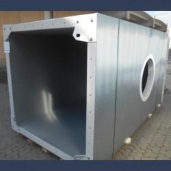 Gaine industrielle isolée pour échappement de gaz de combustion