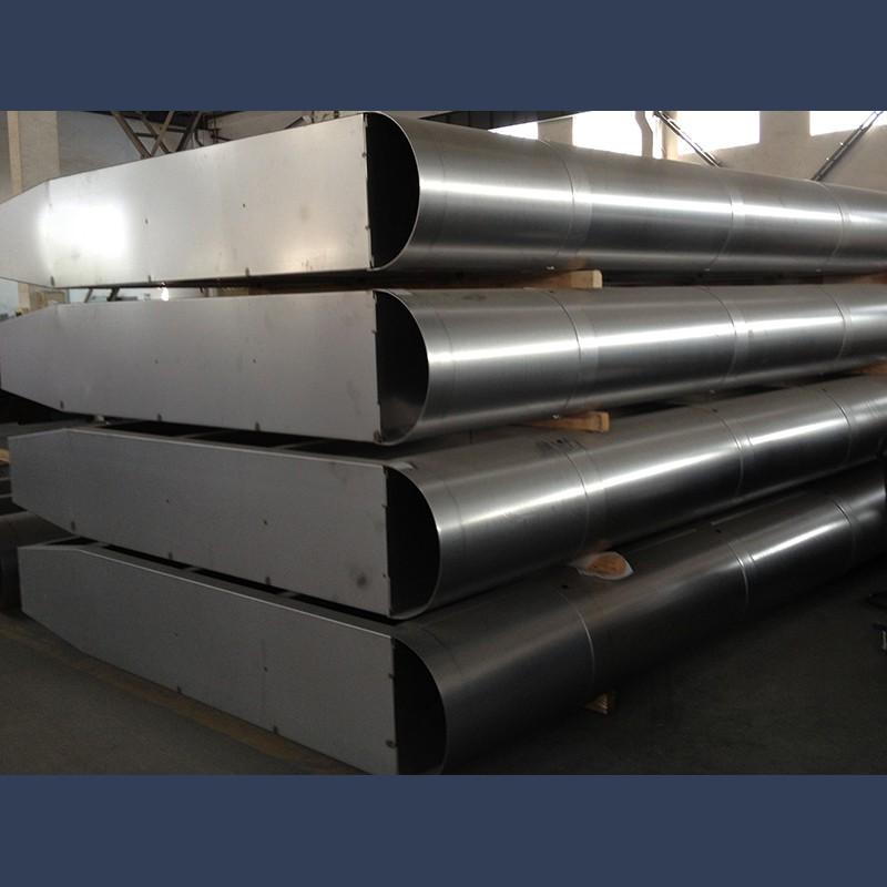 Exhaust gas turbine splitters