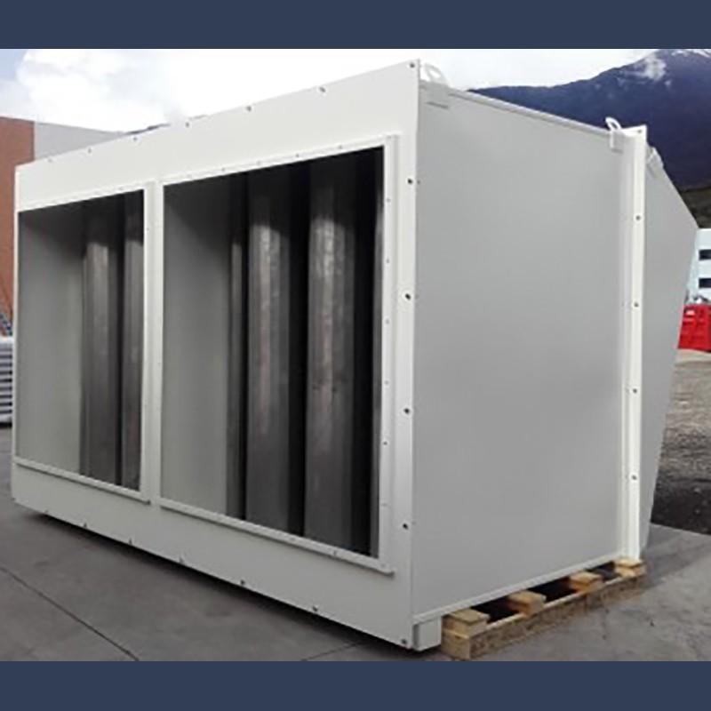 Silencieux d'admission d'air  de combustion pour moteur diesel et gaz