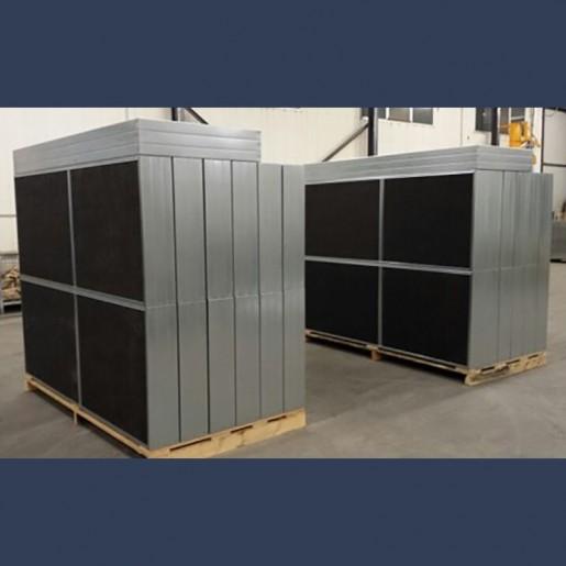 Baffles acoustiques pour applications industrielles - sur mesure