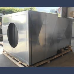 Silencieux d'aspiration à baffles haute efficacité pour ventilateur