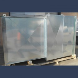 soundproof casing for inlet fan silencer