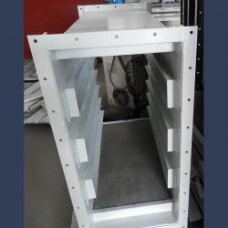 Customized casing for splitter silencer